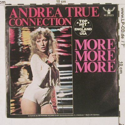 Andrea True Connection More More More She Recorded This Song