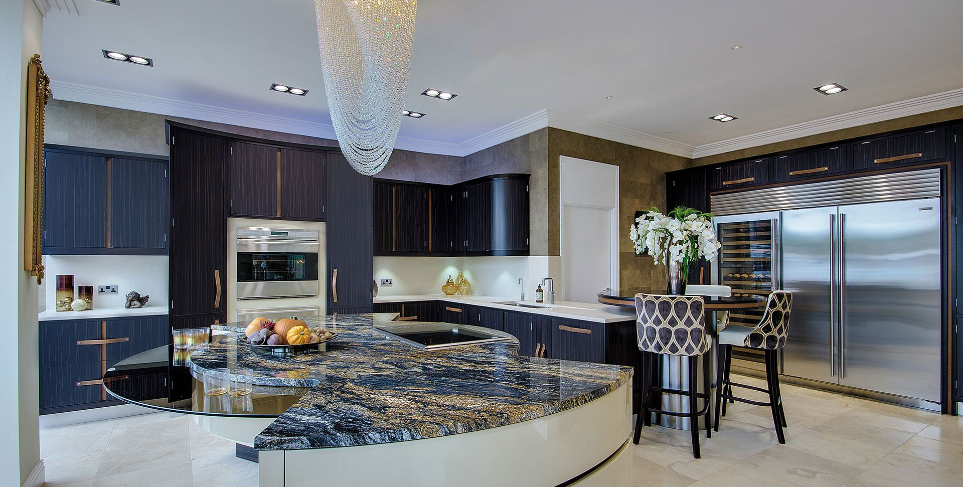Rococco kitchen by extreme design sunningdale showroom for Extreme kitchen designs