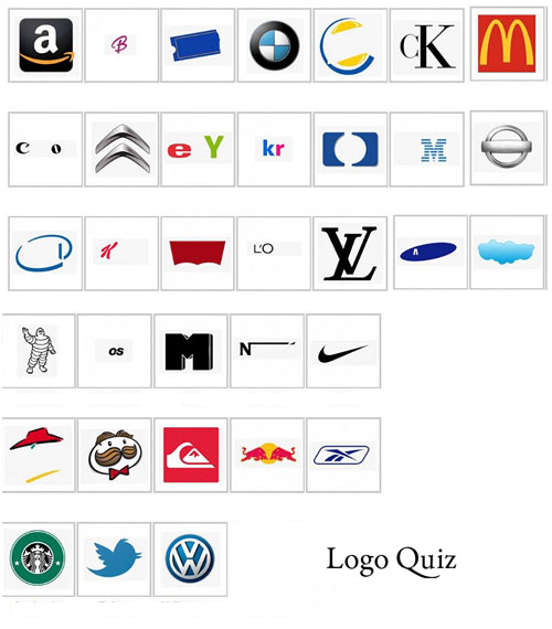 Let's Have Some Fun. How Many Of These Logos Can You Name