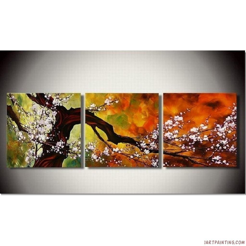 Wall Art Paintings abstract paintings 3pcs canvas set modern acrylic on canvas wall