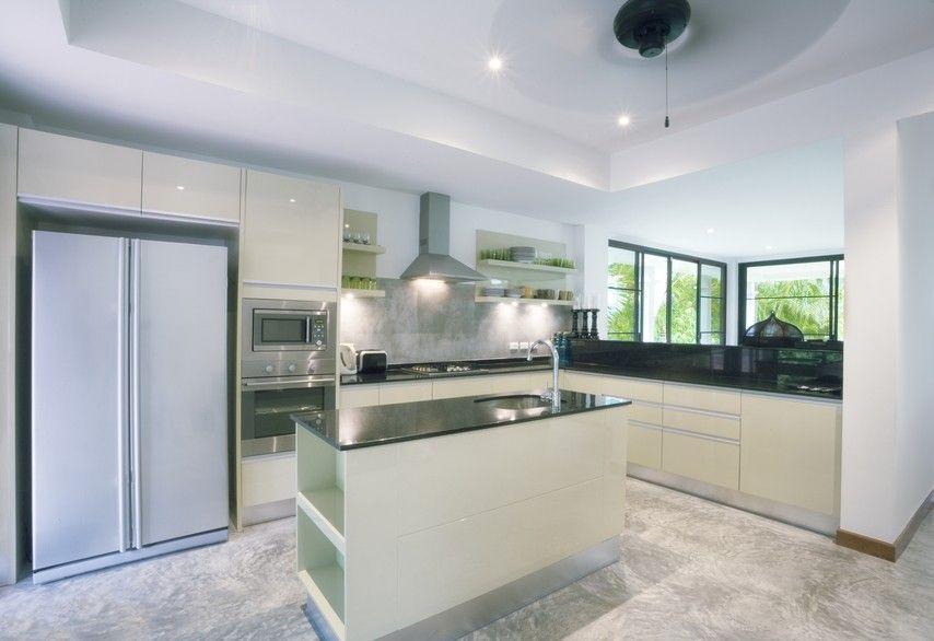 Moderne weiße Küche | 36 Wunderschöne Weiße Luxus Küchendesigns ...