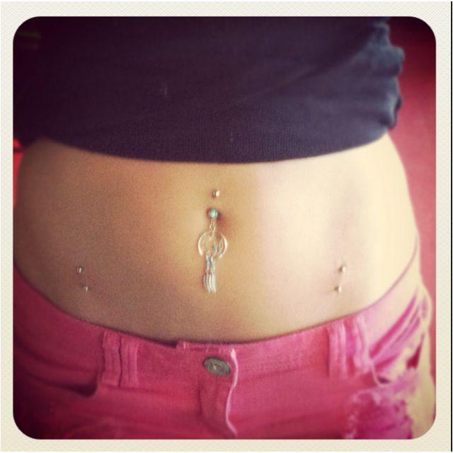 Finally got the hip piercings