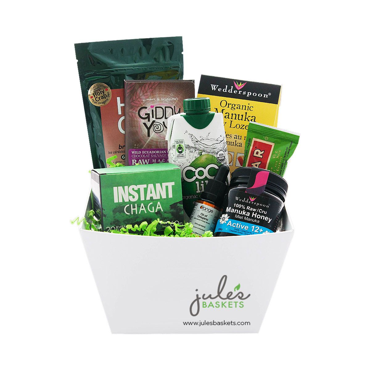 Get well soon 11799 by jules baskets organic glutenfree get well soon 11799 by jules baskets organic glutenfree giftbaskets gifting negle Choice Image
