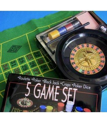 Juegos de Mesa 5 en 1 Porque hay que compartir el turrón y también los juegos
