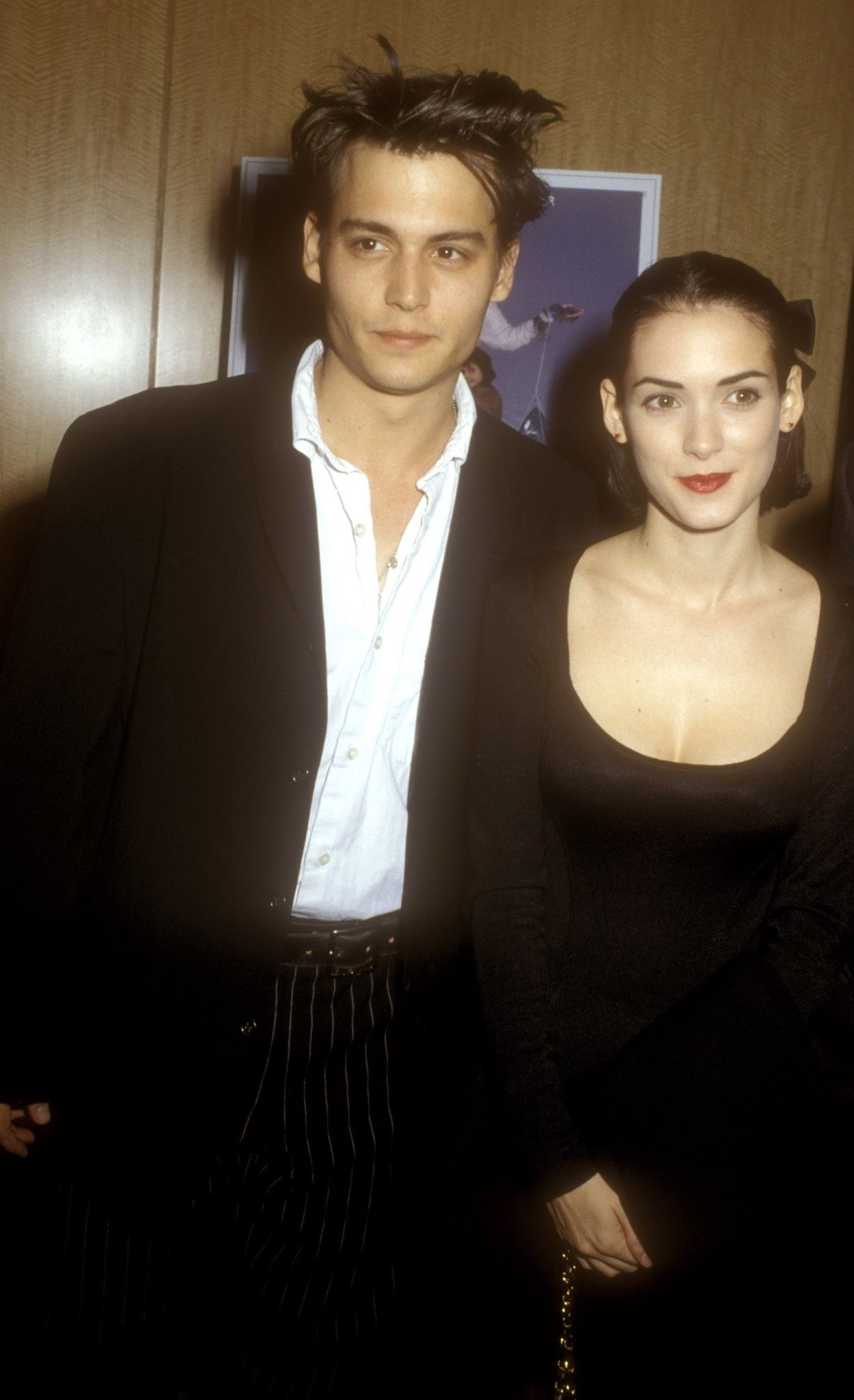 johnny depp and winona ryder admirable people pinterest