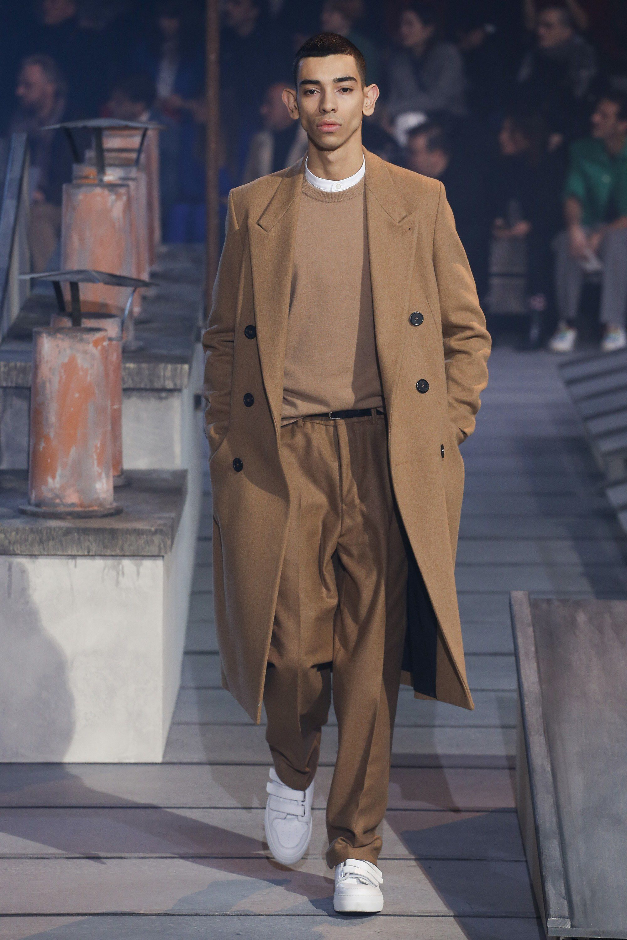 Ami fall menswear fashion show collection fallwinter