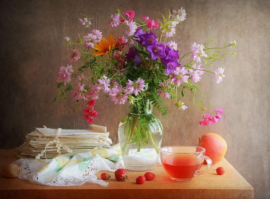 телка- цветы лета в вазах картинки звуку