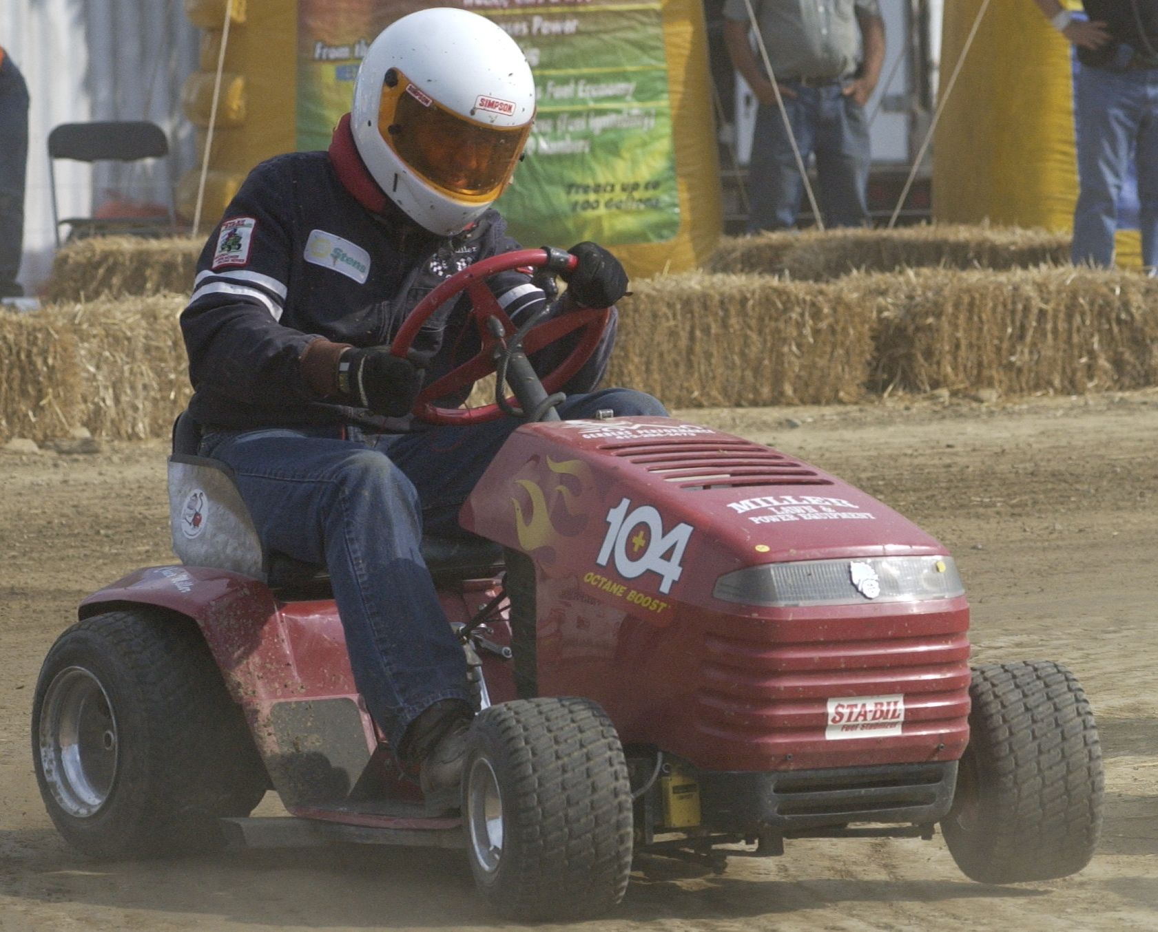 Lawn Mower Racing >> Chuck Miller 2009 Inductee Into The National Lawn Mower