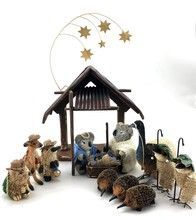 Aussie Nativity  Australian Nativity Scene The little awareness of the most intimate feast of the season Eieiei the Christmas celebration is n