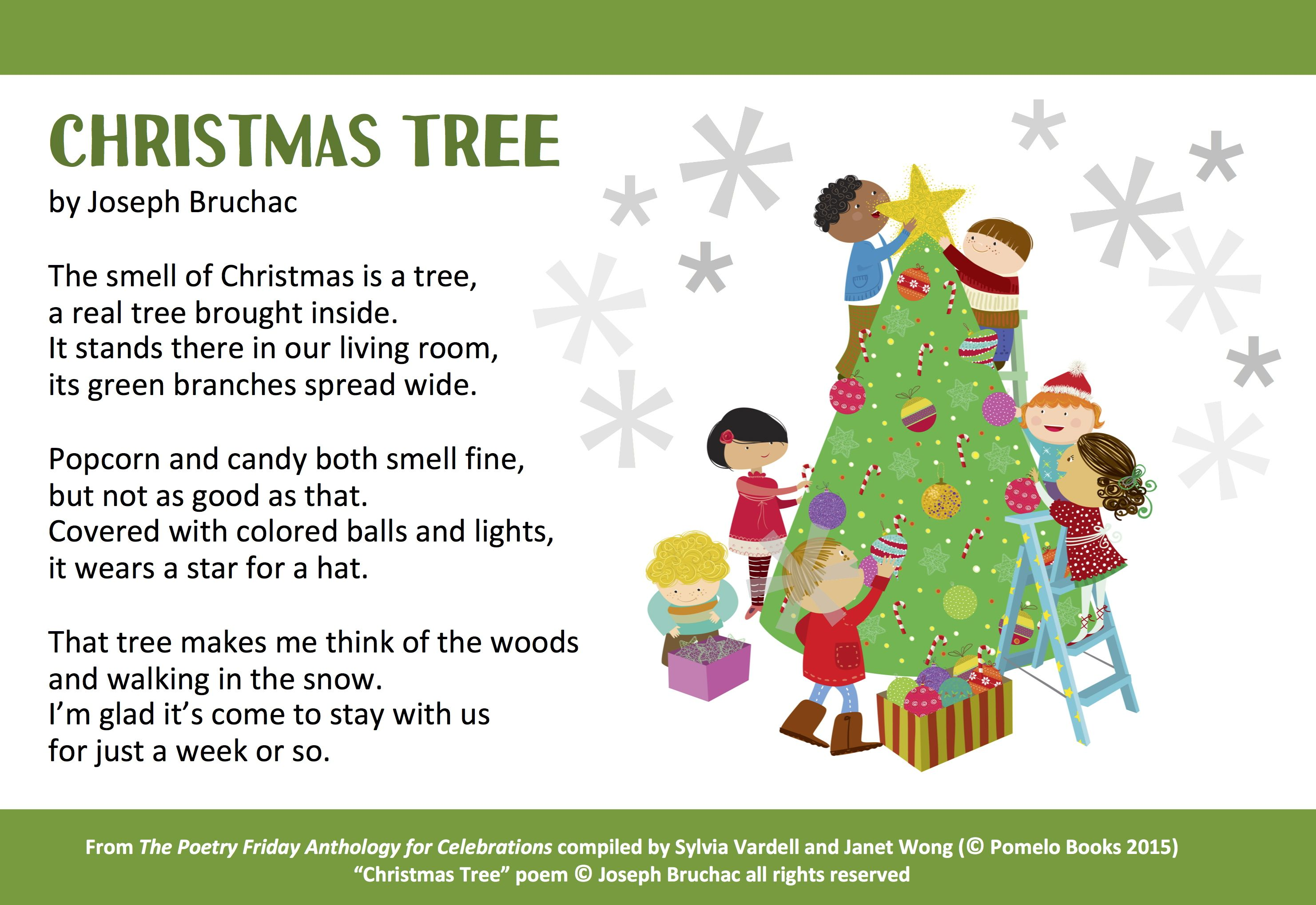 Joseph Bruchac Offers This Lovely Poem Christmas Tree From The Poetry Friday Anthology For Celebrat Merry Christmas Wishes Christmas Poetry Christmas Poems
