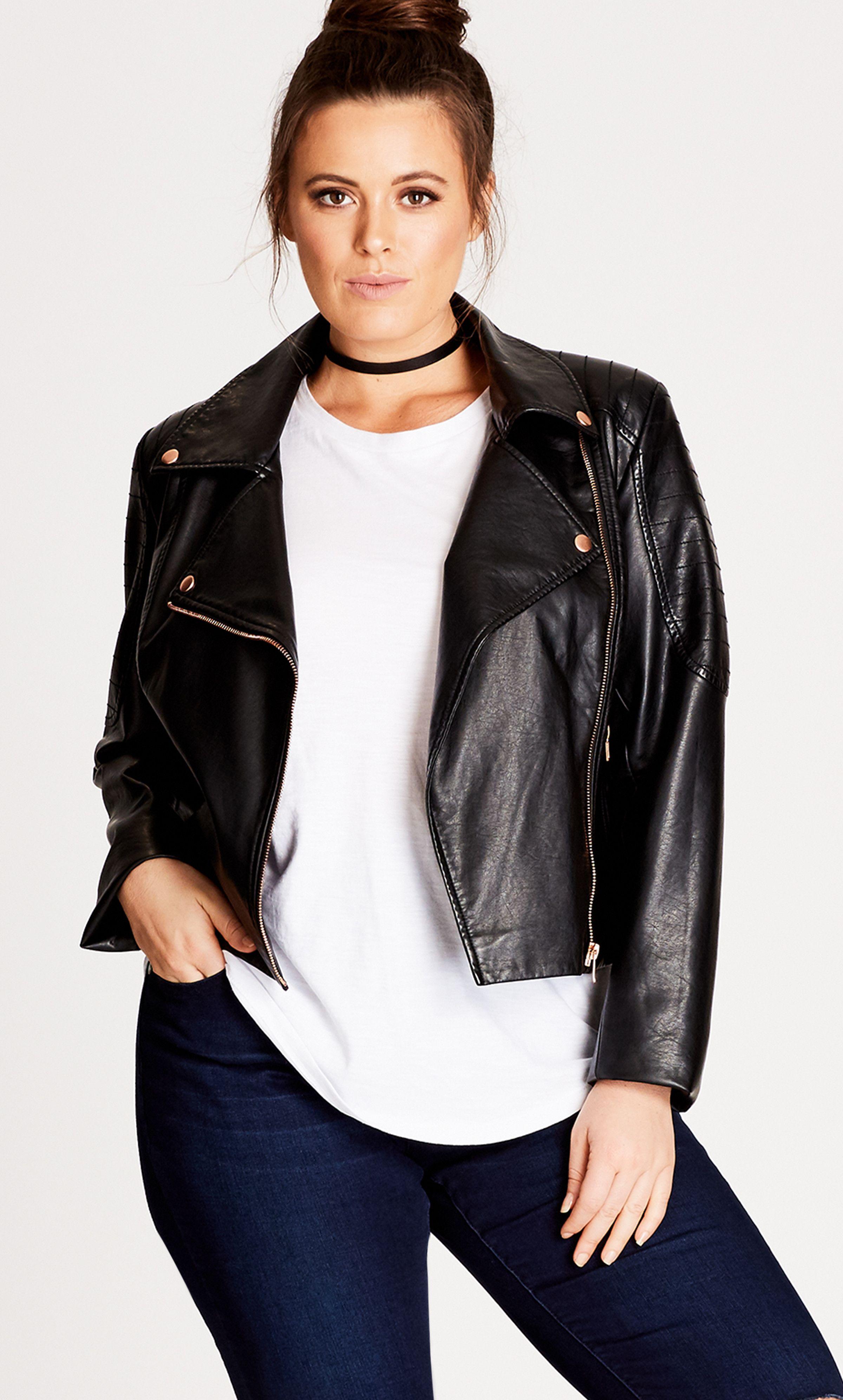 Shop Women 39 S Plus Size Women 39 S Plus Size Faux Leather Jacket City Chic Usa Pleather Jacket Leather Jacket Girl Leather Jacket Outfits [ 3984 x 2400 Pixel ]