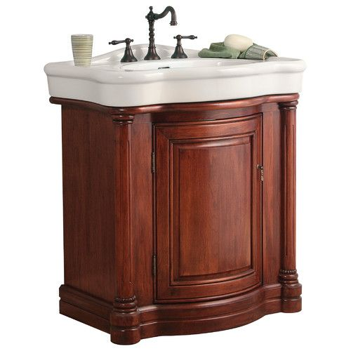 "Found it at Wayfair Supply - 32"" Single Bathroom Vanity Set"
