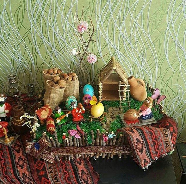 Holiday Decorating Novruz Bayram Novruz Xoncasi Diy Holiday Decor Holiday Diy Holiday