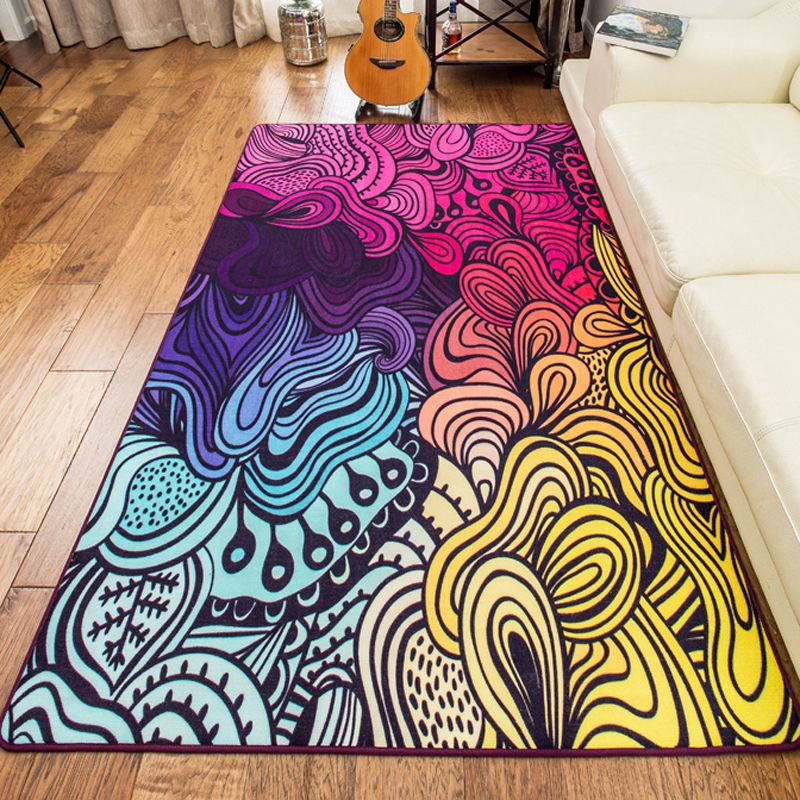 Large Size High Quality Colorful Rugs And Carpets Area Rug For Living Room
