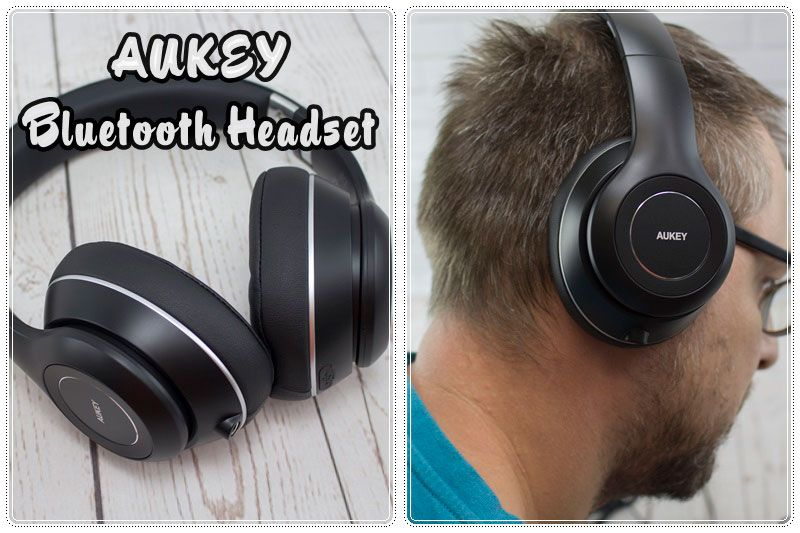 Aukey Bluetooth-Kopfhörer - Susi und Kay Projekte