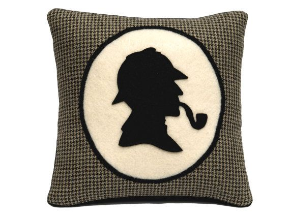 Sherlock Holmes Book Lovers Houndstooth by DancingArethusa on Etsy