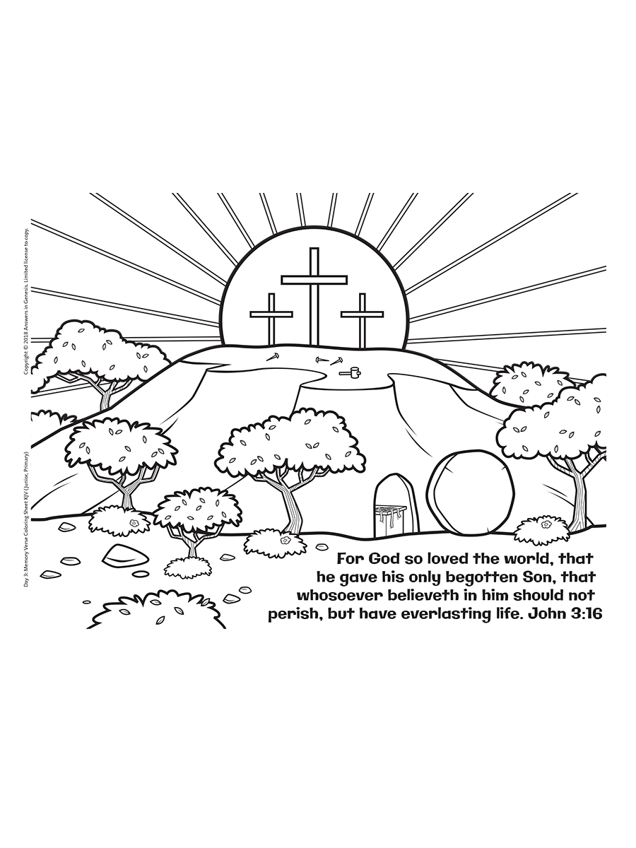 John 3 16 Coloring Kids Answers Sunday School Coloring Pages Sunday School Coloring Sheets Easter Coloring Pages