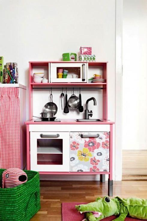 Cocinas de juguete casi reales juguetes de madera - Cocinas de madera para ninos ikea ...