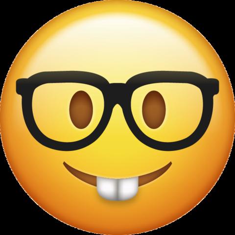 Nerd Emoji Free Download Iphone Emojis Emoji Ios Emoji Emoji Images