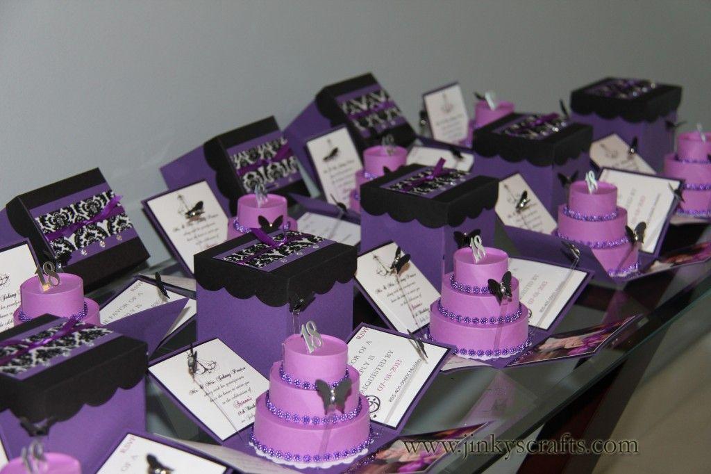 Ooh La La, Paris Themed Sweet Sixteen Invitations | Box, Birthdays ...