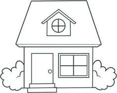 Simple House Drawing Recherche Google Drawings In 2019 House