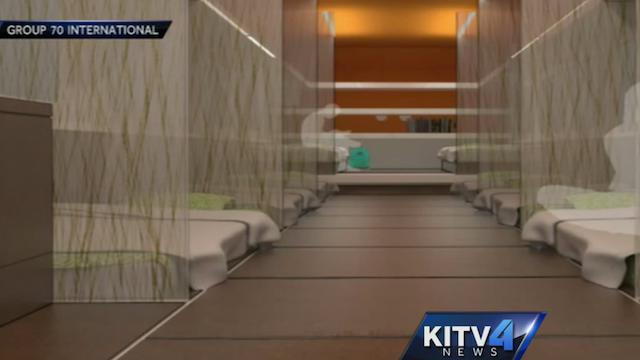 HonolulubushomelessshelterinteriorKITVvideopng 640360 pixels
