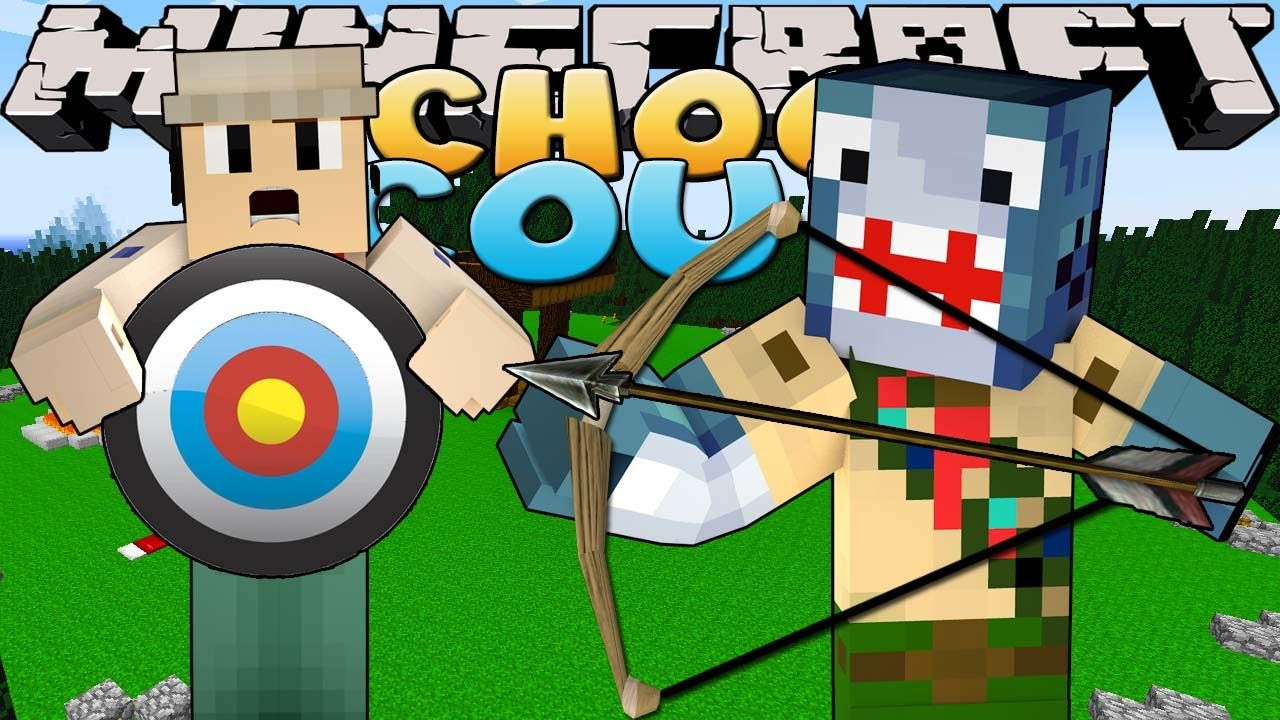 Minecraft School Scouts - SCOUTS GET THEIR ARCHERY BADGE!!