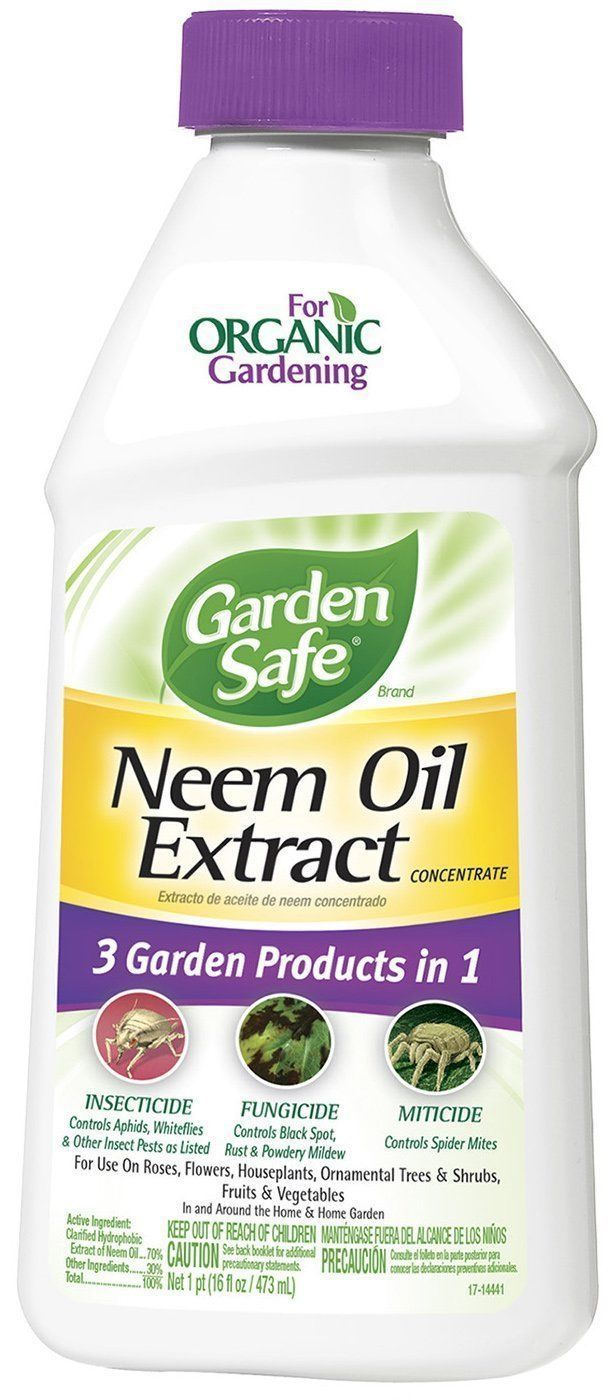 Neem Oil Organic Home Pest Control Garden Safe Fungicide Insecticide Miticide 14