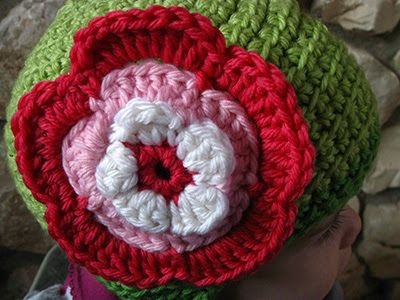 Crochet Big Flower Scarf Crochet Flowers Big Bigger Huge
