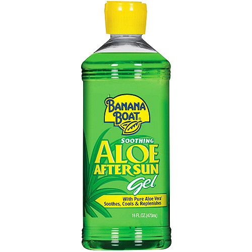 Banana Boat Soothing Aloe After Sun Gel With Aloe Vera 16 Oz Walmart Com Aloe Vera Gel Aloe Gel Summer Skin