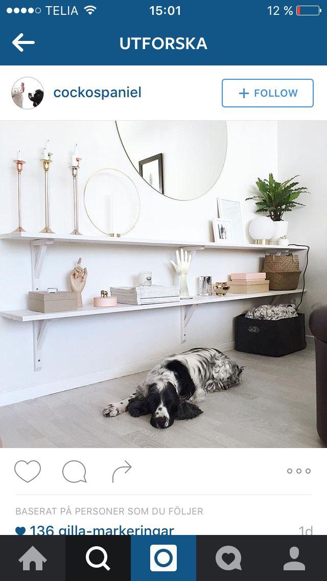 Populära Hylla över soffa | Idéer för hemmet | Vardagsrum hylla, Inredning BU-26