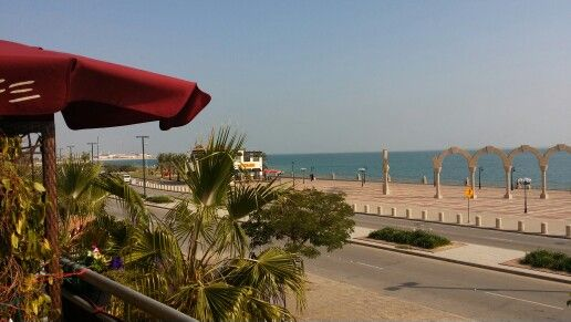 Another Beach Front View Jubail Natural Beauty Nature Saudi Arabia