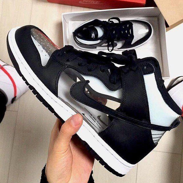 online store ae418 9e4d4 Comme des Garcon - Nike SB Dunk SB High . . #drsdlike ...