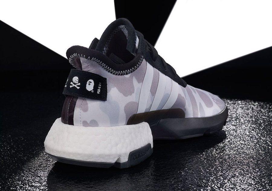 Bape Neighborhood Adidas Nmd Stlt Pod S3 1 Release Date Sbd