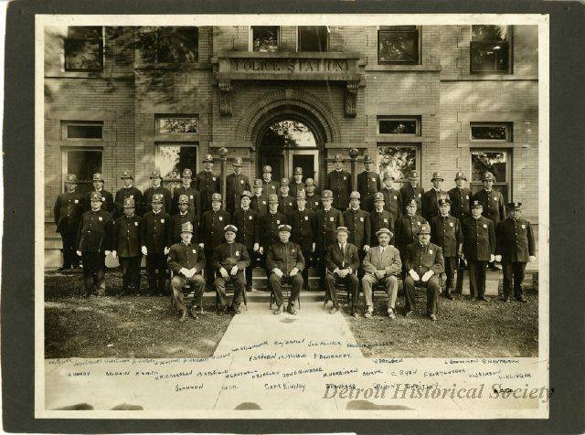 1939 069 001a Detroit History Detroit Police Station