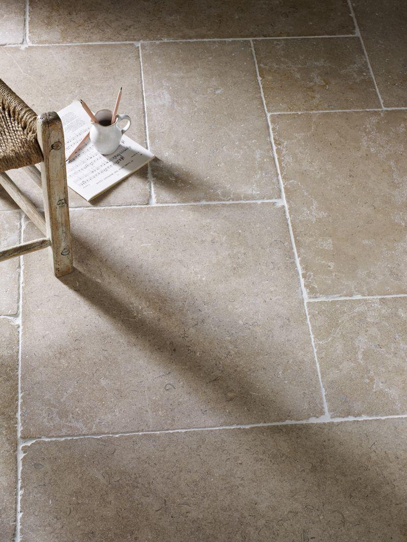 Dijon Tumbled Limestone Tiles Stone Mandarin Stone Tiles