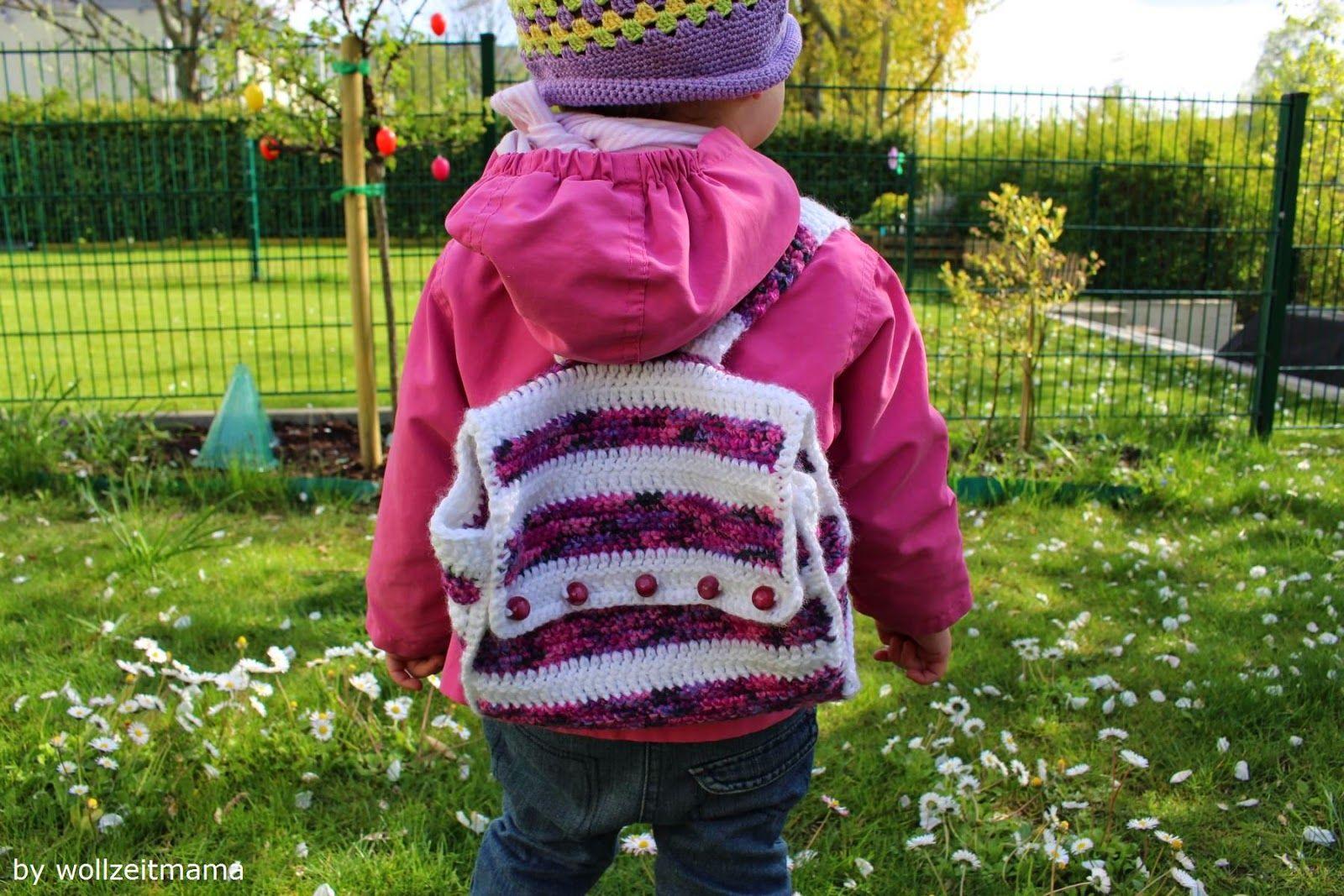Rucksack Häkeln Für Kinder Anleitung Mini Rucksack Kostenlos