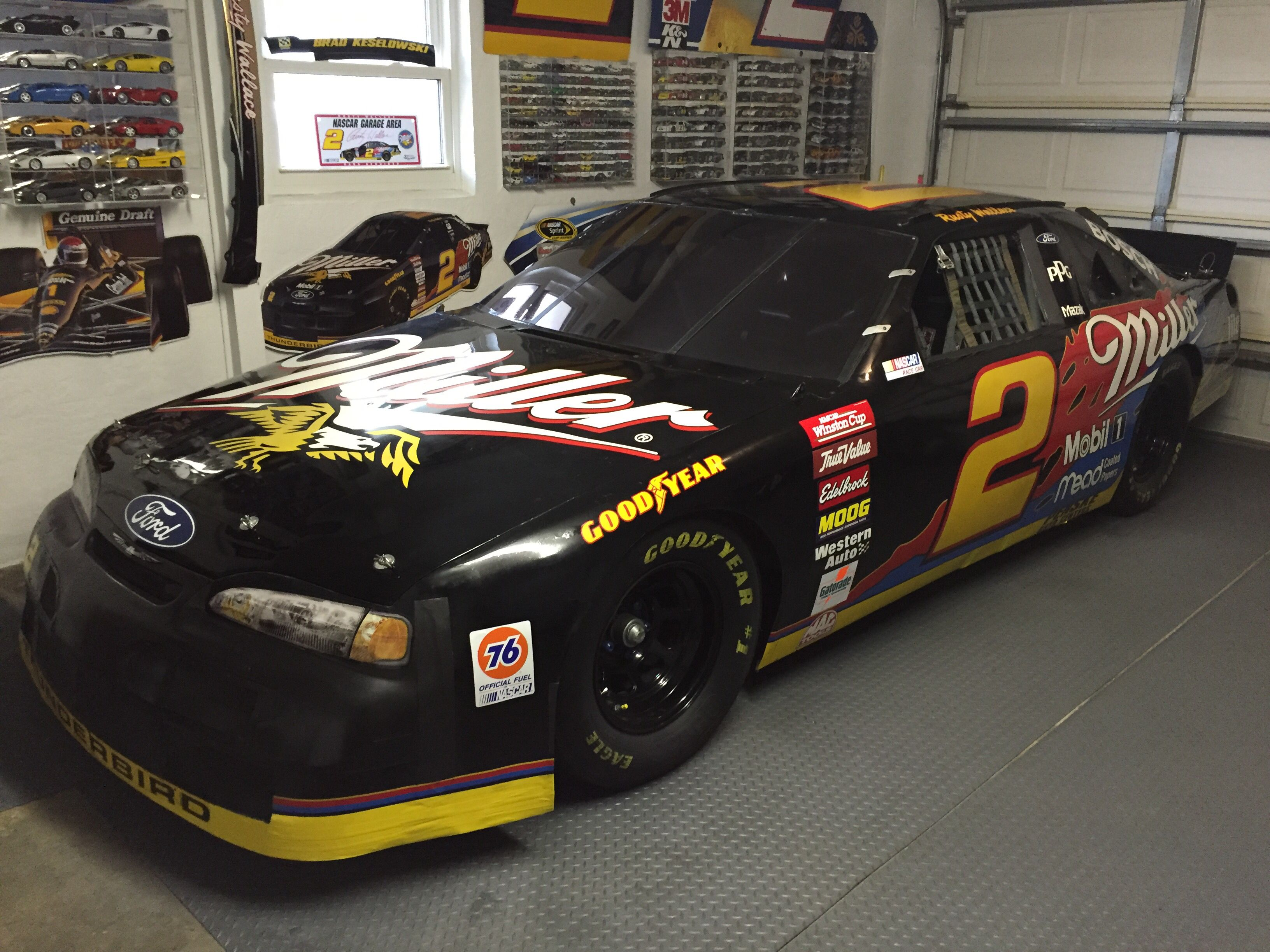 """1996 Miller 25th Anniversary """"Splash"""" car driven by Rusty Wallace"""