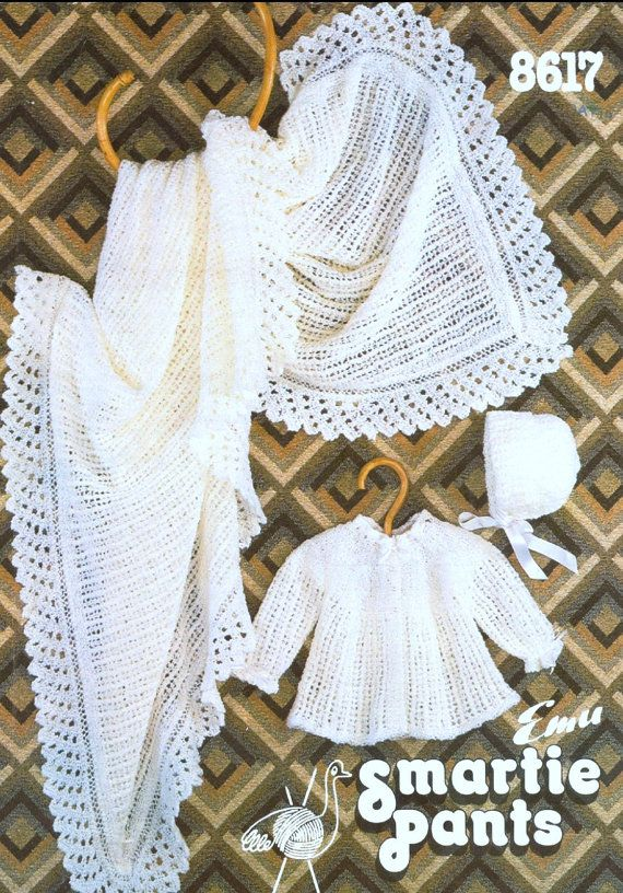 Knitting PATTERN - Baby Pattern - Coat and Bonnet/Hat - sizes 14 ...
