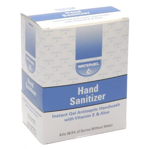 Instant Hand Sanitizer Gel Water Jel Packets 144box You Can