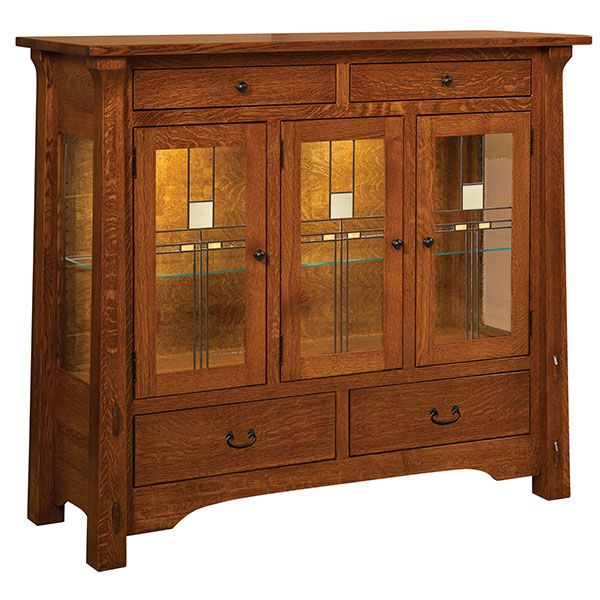 Exceptionnel Amish Miriam High Buffet | Amish Furniture | Shipshewana Furniture Co.