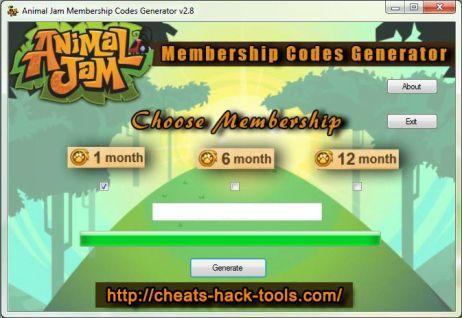 Animal jam codes for free membership