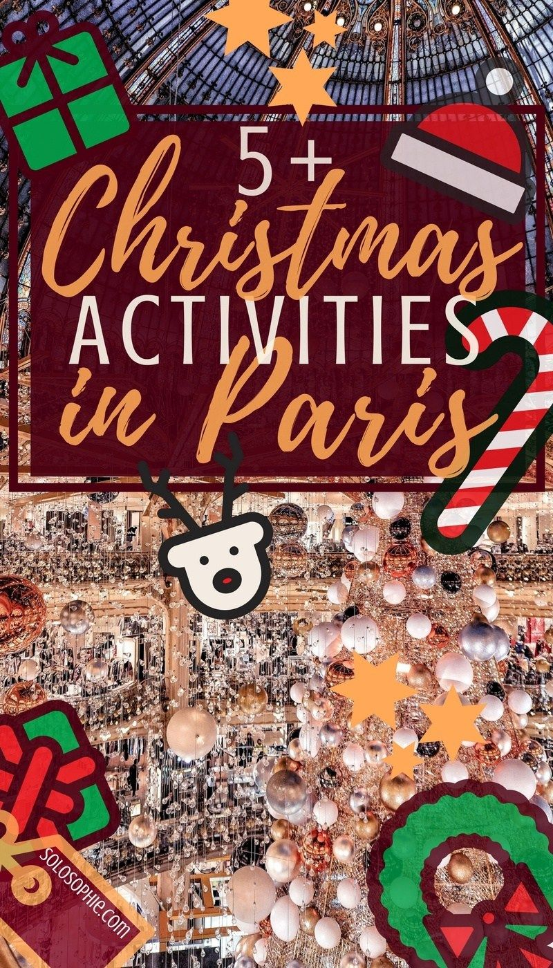 christmas things to do in paris france pinterest historical