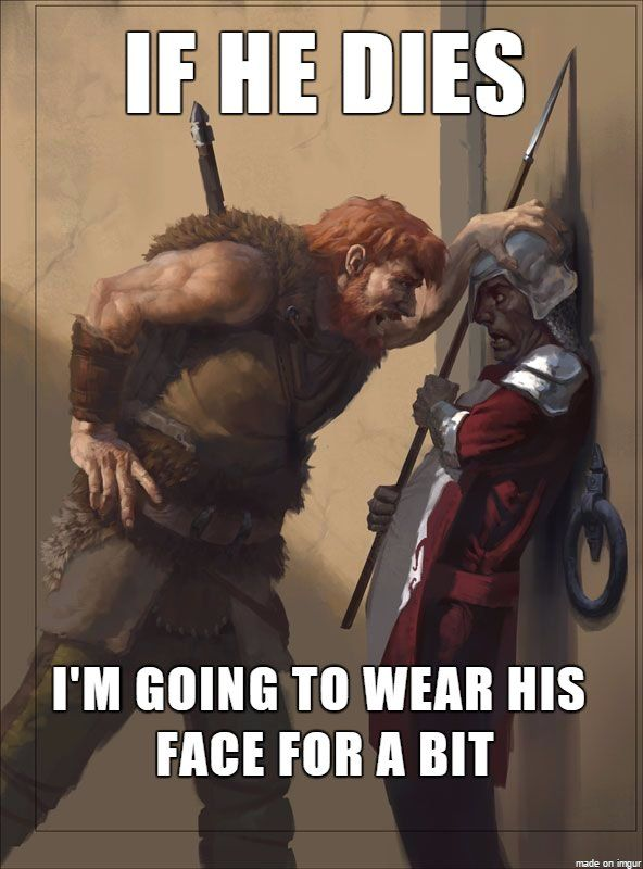 Dnd Dd Funny Barbarian Quotes Dungeons And Dragons Barbarian Dnd Dungeons And Dragons Memes