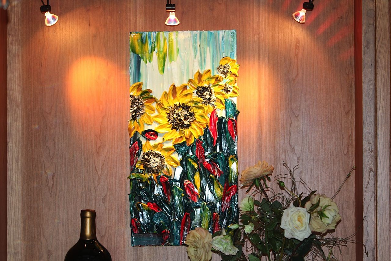 Collectors home art for the home floral artist barbara scharpf