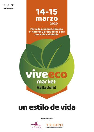 Viveeco, nuevo certamen que la Feria de Valladolid incorpora sobre alimentación y vida saludable durante los días 14 y 15 de marzo