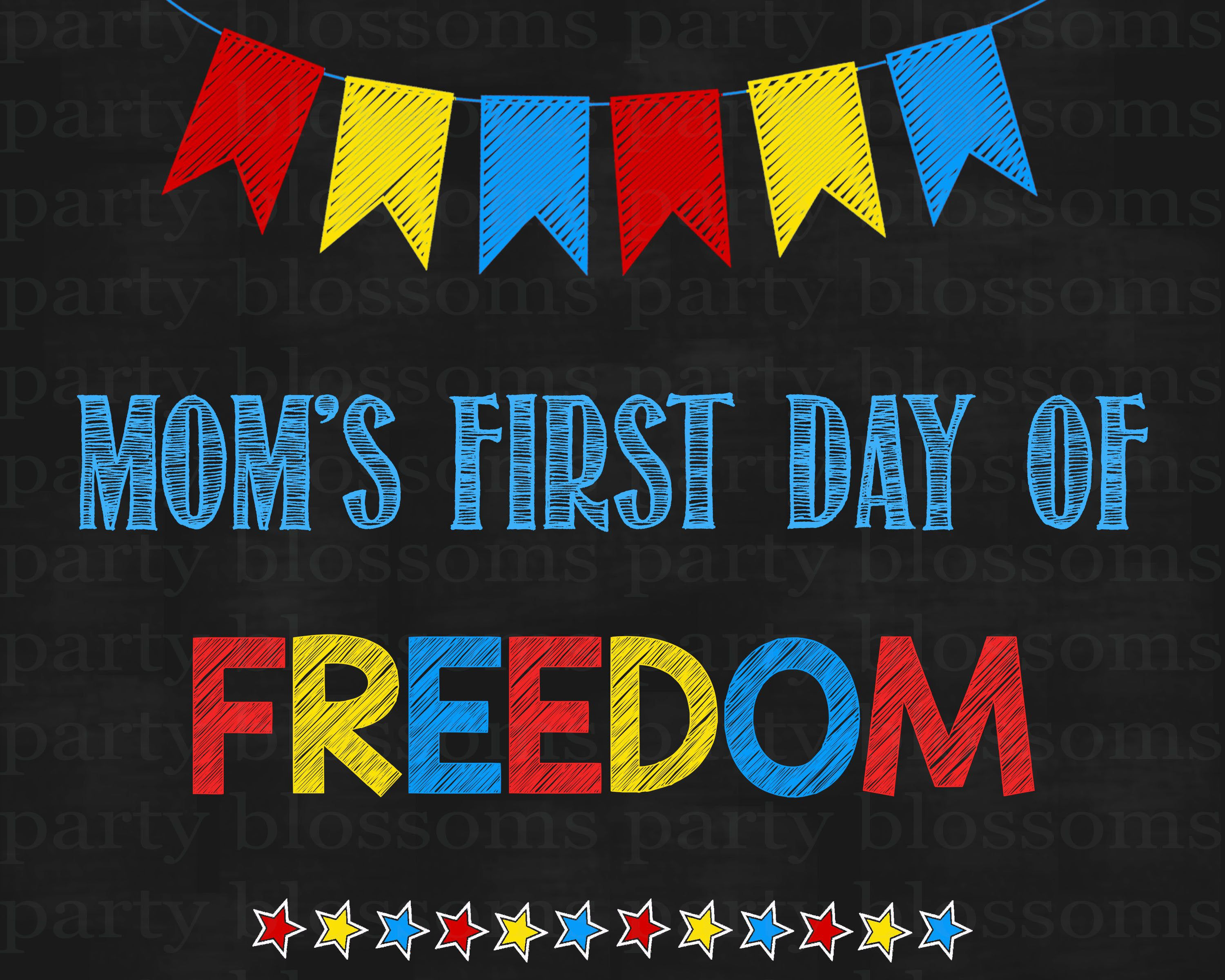 Excited To Share This Item From My Etsy Shop Instant Download First Day Of School Sign Mom Freedom Sign Prin Printable Photo Props School Signs Signs For Mom