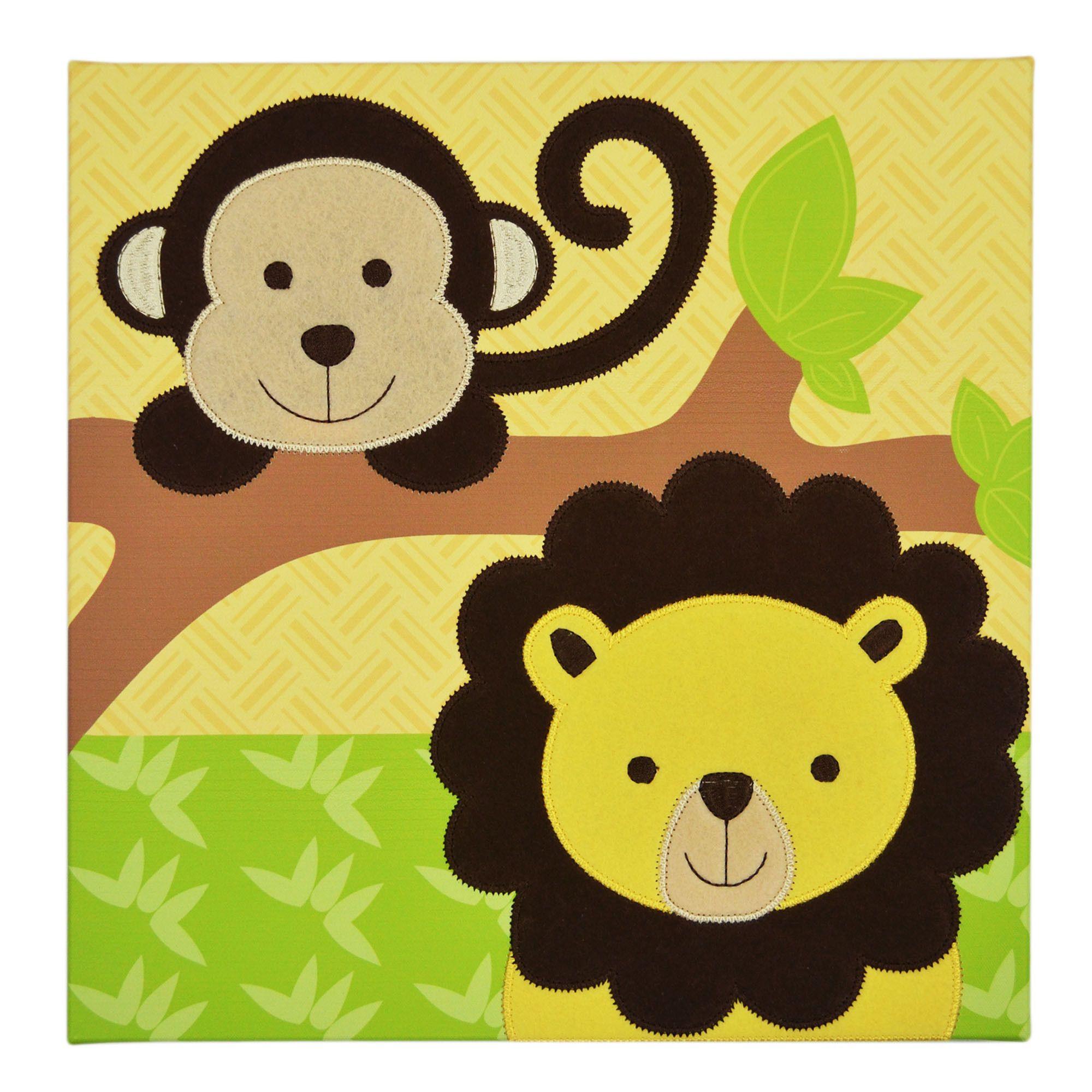 Farallon Koala Baby Jungle Embellished Wall Art | Products ...