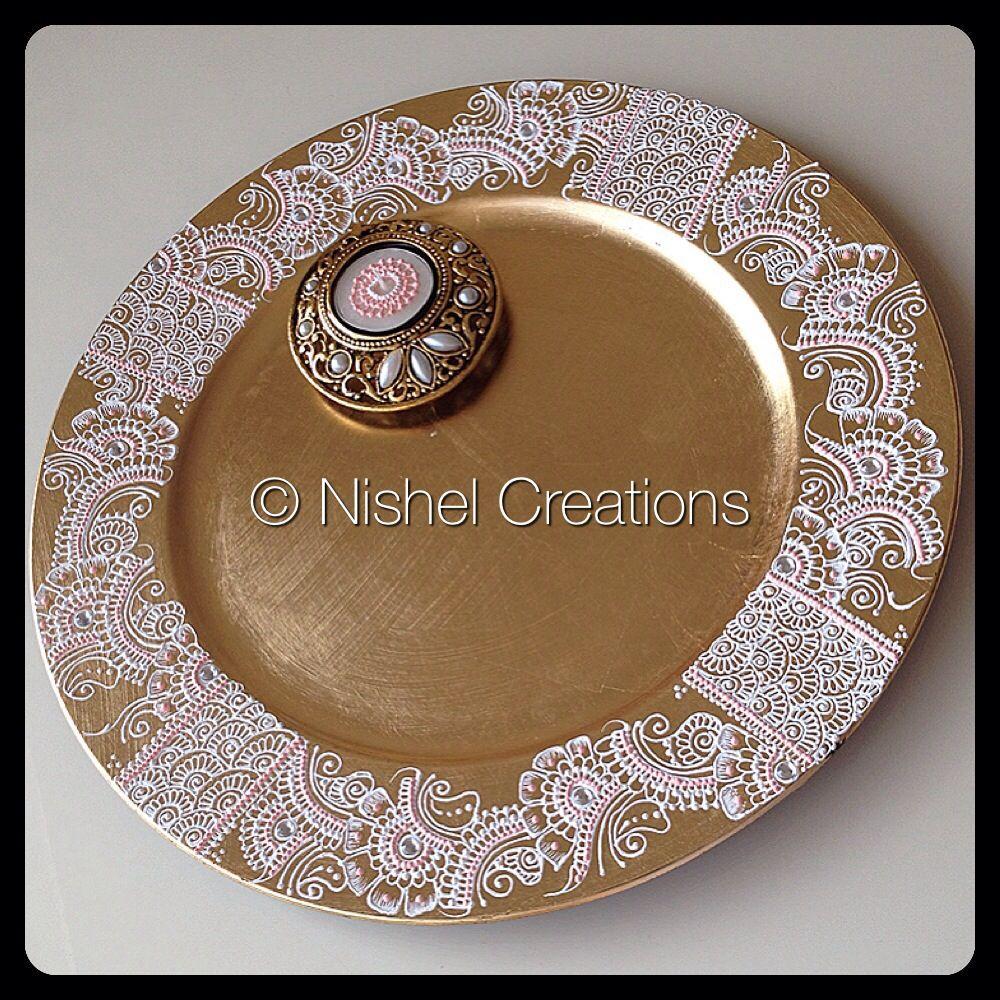 Mehndi Thaal Designs : Arti thaal craftiness pinterest hennas and mehndi