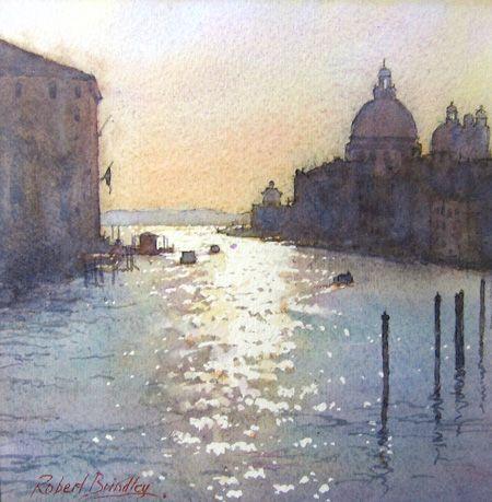 Resultado De Imagen De Robert Brindley Venice Paysage Peinture